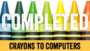 Help Us Help Crayons to Computers