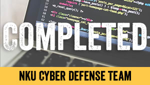 Funding the NKU Cyber Defense Team