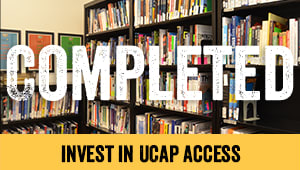 Invest in UCAP Access: Chapter Two