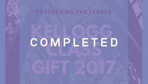 Kellogg Class of 2017 Gift (KSM)