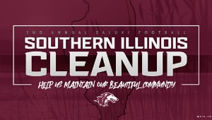 2nd Annual Saluki Football Southern Illinois Clean Up