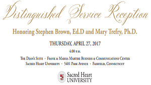 Honoring Drs. Stephen M. Brown and Mary G. Trefry