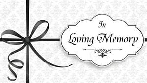 In Loving Memory of Mrs. Catherine Gelhaus
