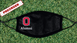 Ohio State Alumni Mask