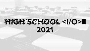 Highschool I/O High School Hackathon 2019