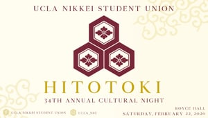 UCLA Nikkei Student Union's 34th Annual Cultural Night
