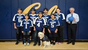Cal Goalball Team (First College Team for Blind Students)