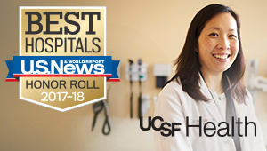 You've Helped Make UCSF Medical Center One of the Top 5 Hospitals in the Nation