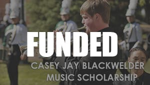 Casey Jay Blackwelder Music Scholarship