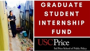 USC Price Graduate Student Internship Fund