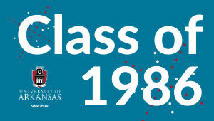 1986 Class Challenge for Law School Scholarships