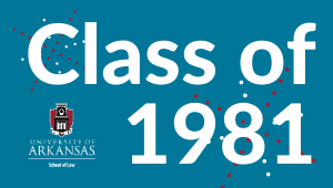 1981 Class Challenge for Law School Scholarships