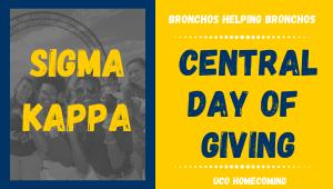 Sigma Kappa- Bronchos Helping Bronchos
