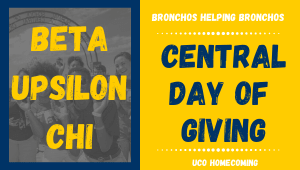 Beta Upsilon Chi- Bronchos Helping Bronchos