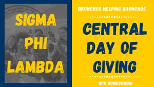 Sigma Phi Lambda- Bronchos Helping Bronchos