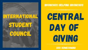 International Student Council- Bronchos Helping Bronchos