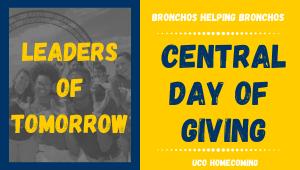 Leaders of Tomorrow- Bronchos Helping Bronchos