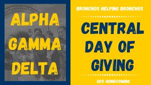 Alpha Gamma Delta- Bronchos Helping Bronchos