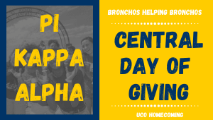 Pi Kappa Alpha- Bronchos Helping Bronchos