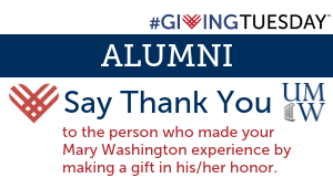 ALUMNI: Say Thank You