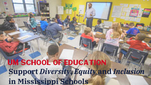 Support Diversity, Equity and Inclusion in Mississippi Schools
