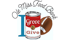 I Grove and Give for the Ole Miss Food Bank!