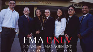 Help the UNLV Financial Management Association Travel to Boston