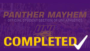 New UNI Flags for Panther Mayhem