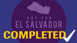 Art for El Salvador Delegation