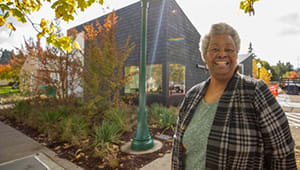 Lyllye Reynolds-Parker Black Cultural Center Donor Wall Close Out
