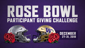 Rose Bowl Participant Giving Challenge