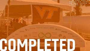 Send Hyperloop at Virginia Tech to Competition III