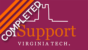 iSupport Virginia Tech Student Giving Campaign
