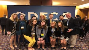 DECA Student Trip Support 2019