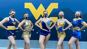 Support the WVU Feature Twirler Scholarship Fund!