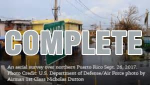 WVU / NANOGrav aid to Arecibo Observatory, Puerto Rico