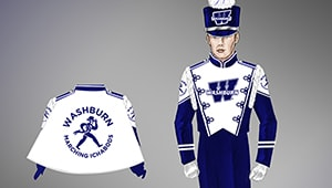 Marching Bods: New Uniforms for the Marching Blues
