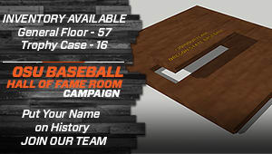OSU Baseball Hall of Fame Room Campaign