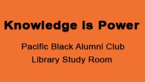 Knowledge Is Power - Black Alumni Study Room