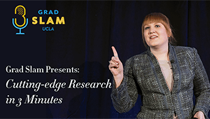 Grad Slam Presents: Cutting Edge Research in 3-minutes