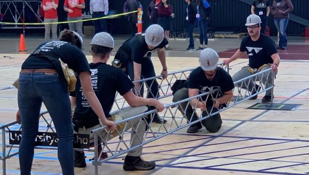 AISC Steel Bridge Competition Team Image