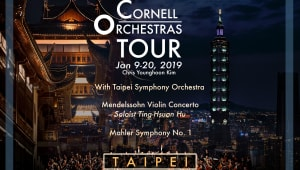 Cornell Orchestras Tour to Taiwan