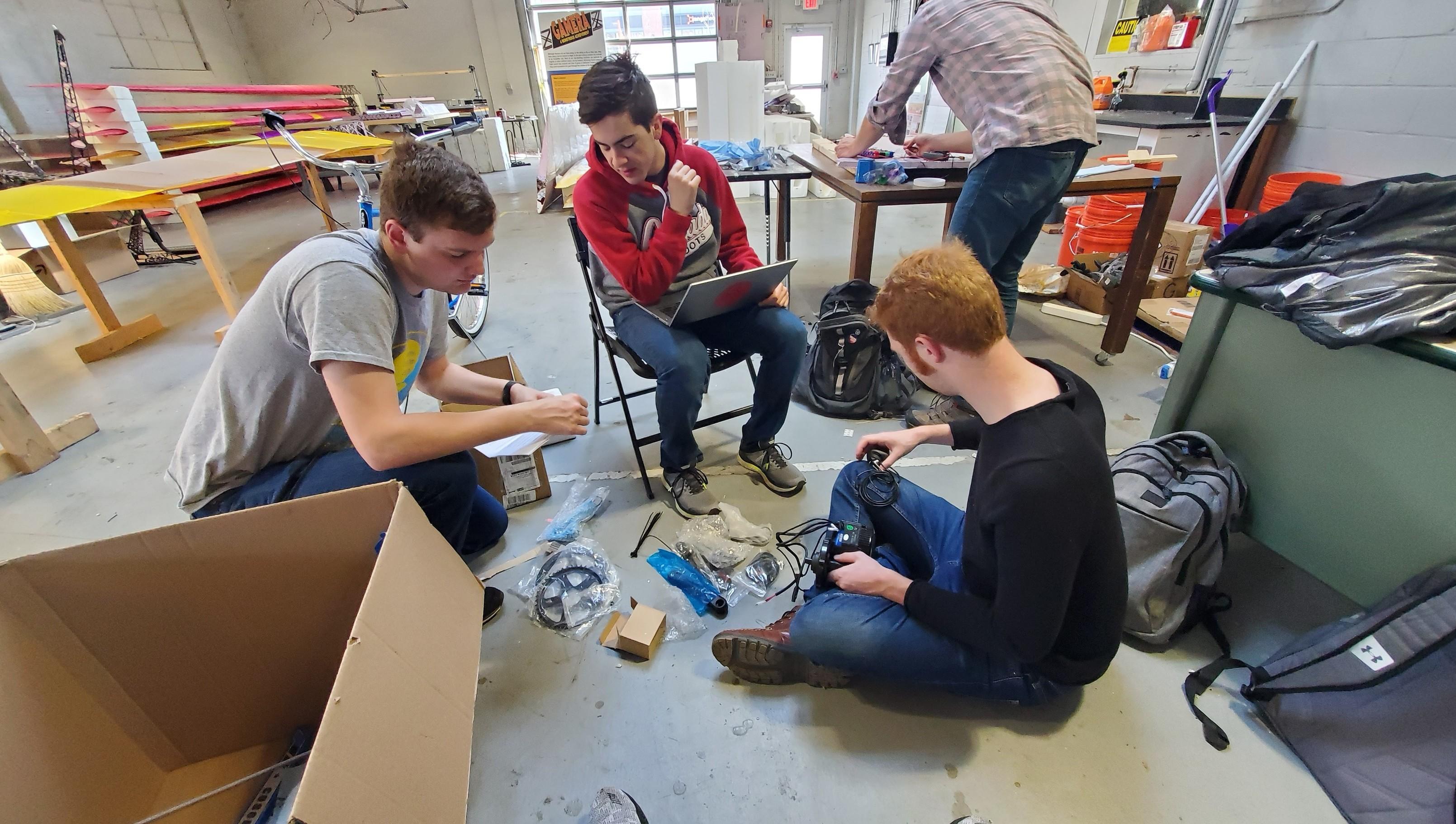 Team Testing Motor