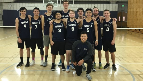 WWU Men's Volleyball Image