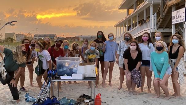 Help UNCW POP Keep Our Coastline Clean! Image