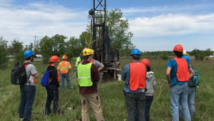 Geology Summer 2021 Field Camp Training Well Drilling Campaign