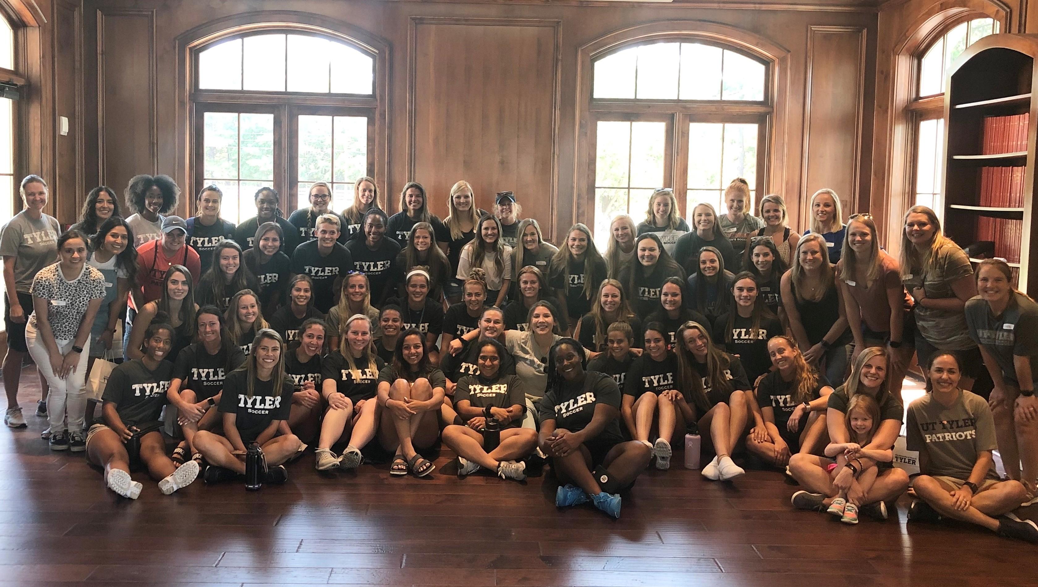 2019 Women's Soccer Alumni Event