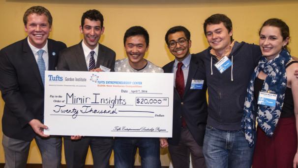Entrepreneurship and the Tufts $100k Roadshow Image