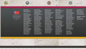 ASU Veterans Memorial Wall