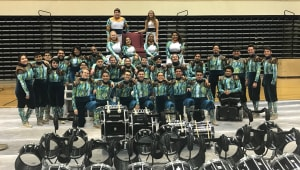 UTSA Indoor Percussion Competing in Dayton